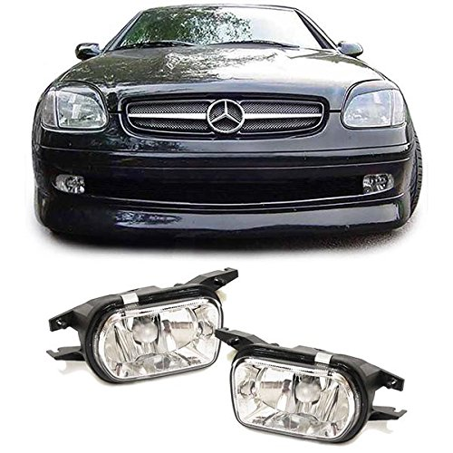 Mercedes w203 cLK w209 verre transparent anti-hB4–lot de 2