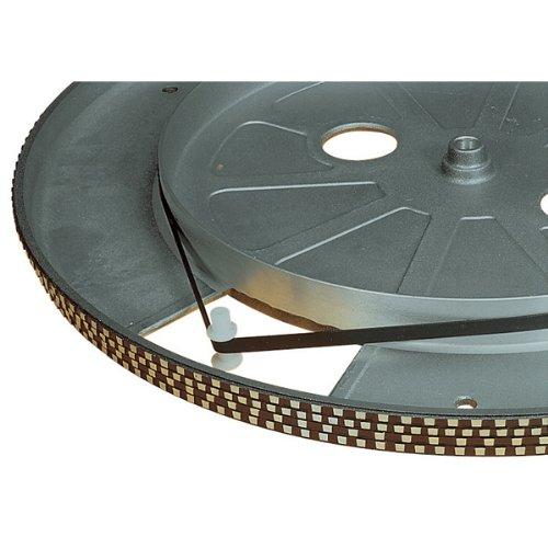 Schwarz 205 mm Plattenspieler Antriebsriemen
