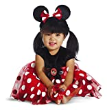 Disguise My First Disney Red Minnie Costume, Black/Red/White, 6-12...
