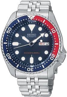 Seiko - SKX009K2 - Reloj analógico de caballero automático con correa de acero inoxidable plateada - sumergible a 200 metros
