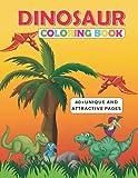 Dinosaur Coloring Book: 40 + attractive dinosaur designs including Lambeosaurus lambei, Hypacrosaurus altispinus ,Edmontosaurus annectens, Corythosaurus casuarius and so on.
