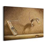 Skydoor J パネル ポスターフレーム 猫の創造力 インテリア アートフレーム 額 モダン 壁掛けポスタ アート 壁アート 壁掛け絵画 装飾画 かべ飾り 30×40