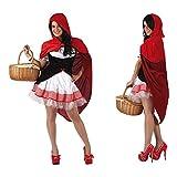ATOSA disfraz caperucita mujer adulto vestido XS