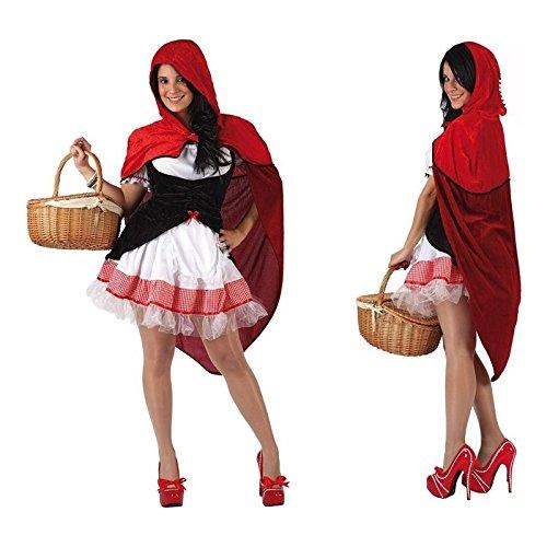 Atosa - 5945 - Disfraz Caperucita- talla M-L - Color Rojo para Mujer Adulto