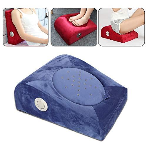 Moxibustion Kissen Futon, Moxibustion Therapie Hocker/Rauchfreies Moxa Pad,für Hüften Füße Taille Hüften Home Beauty Salon (Farbe : Blau)