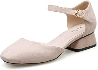 d54136a6 ZCW Zapatos Casuales versátiles, Zapatos Retro Zapatos Cruzados para  Mujeres con Zapatos en el otoño