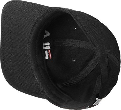 Fila Cap DAD Cap Strap Back LINEAR Logo 685034 Schwarz 002 Black, Size:ONE Size