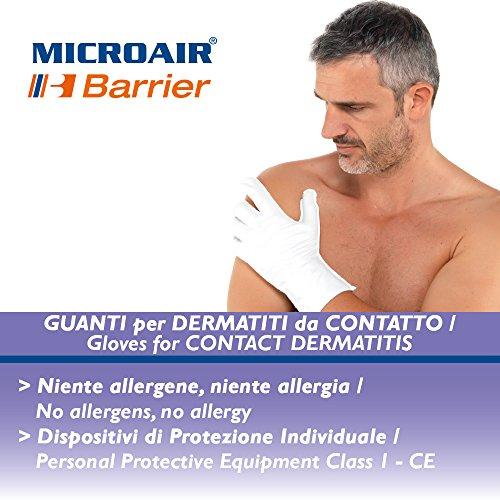 Microair Barrier Therapeutische Handschuhe 3 Paar XXL (lunghezza dito medio 10 cm)