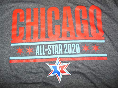 XL NEW 2020 NBA ALL STAR GAME CHICAGO VERY RARE AND WANTED TEE SHIRT COOL!