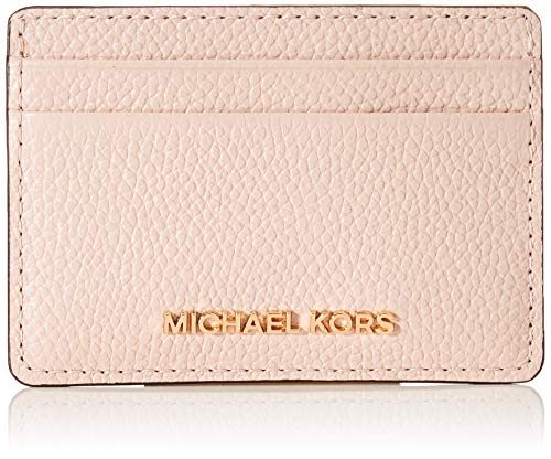Michael Kors Damen JET SET CARD HOLDER, Soft Pink, Einheitsgröße