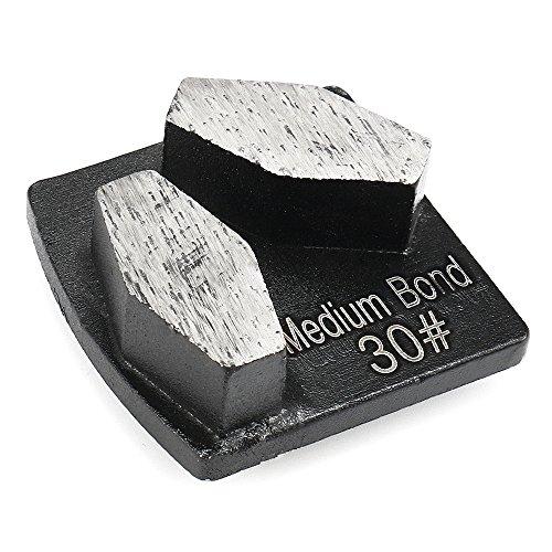 ChaRLes Raspador De Metal Segmento De Pulido De Diamante Husqvarna Grinder Grit 30 Raspadores De Enlace Medio