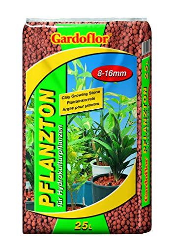 Gardoflor 25 Liter Pflanzton Blähton Körnung 8-16 mm Kultursubstrat Hydrokultur