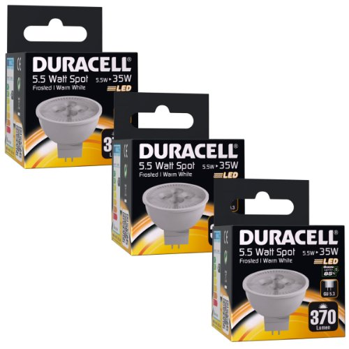 Duracell Ampoule GU5.3 LED 5 watts