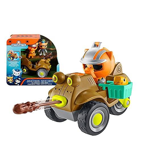 Nuevo estilo Octonautas GUP-M Kwazii resure explorar vehículo motocicleta figuras juguete cumpleaños niño regalo bañera pata juguete