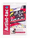 Grafix KATP811 Artist-Tac Permanent Dry Adhesive Sheets (25 Pack), 8.5