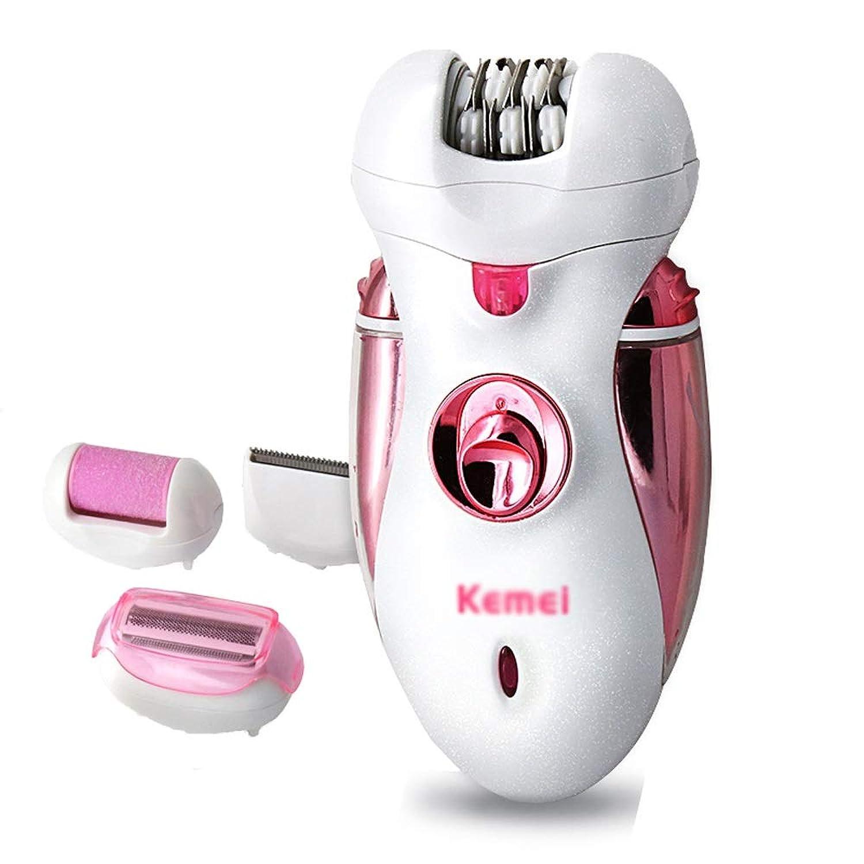 電気脱毛装置、女性の痛みのない脱毛、携帯用脱毛装置、顔の脇の下のビキニの脱毛に適して、1の多機能4 (Size : 110V)