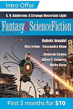 The Magazine of Fantasy & Science Fiction July/August 2011