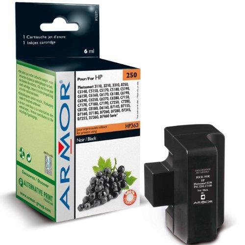 Für HP Photosmart 3110 - Black Patrone, Armor wiederaufbereitete Druckerpatrone für 3110, 6ml