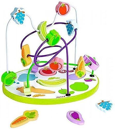 envío gratis Janod Fruits and Vegetables Vegetables Vegetables Sorting Puzzle by Janod  precios mas bajos