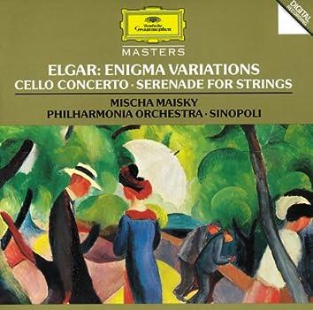 Elgar: Enigma Variations; Cello Concerto; Serenade For Strings