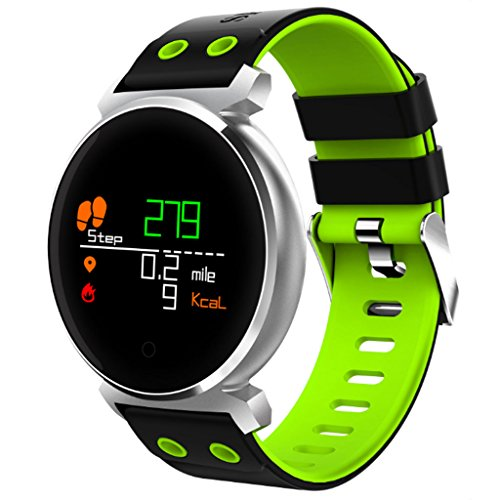 Best Bargain DSWDA Smart Watch Fashion Color Screen Smart Bracelet Long Standby Waterproof Bluetooth Watch (Color : C)