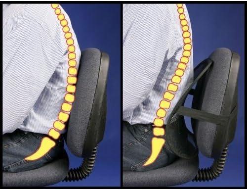 Unique Imports Lumbar Miami Mall Support Cushion Fix Posture Back Seat Musc Surprise price