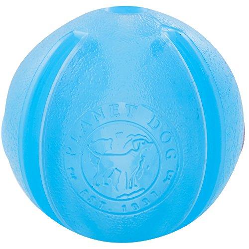Planet Dog - Pelota de golosinas, Color Azul