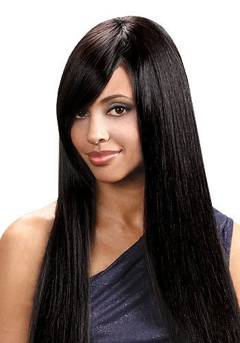 "PRIME YAKY REMI 16"" - BOBBI BOSS First Remi Premium Remi Hair Weave Extensions #1B"