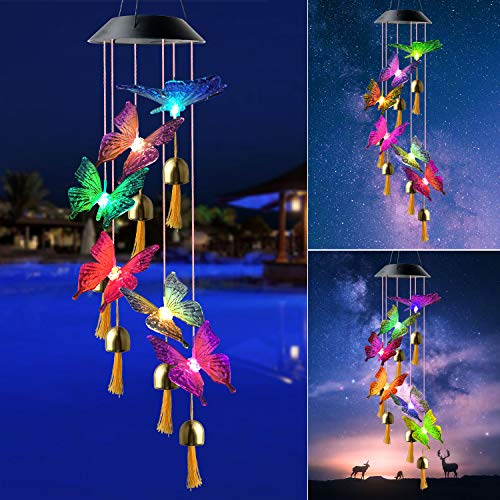 Star wind chimes LED interchanging