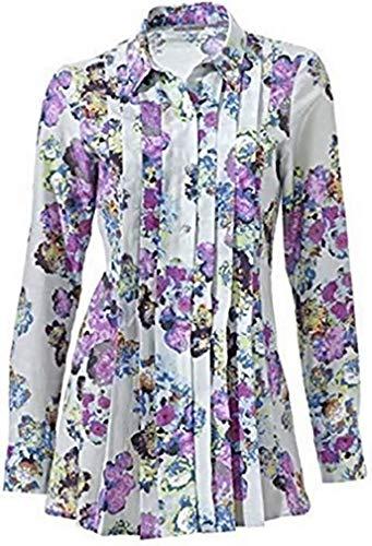Ashley Brooke bluzka z kwiatowym nadrukiem