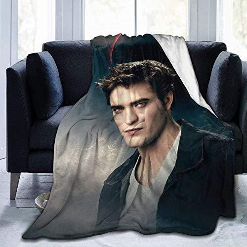 Handidi Edward Cullen-Twilight Superweiche Decke, leichte Plüsch-Bettdecke, geeignet für Erwachsene und Kinder