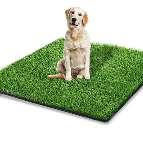 STARROAD-TIM 51.1 x 31.8 inches Artificial Grass Rug Turf for Dogs Indoor Outdoor Fake Grass for Dogs Potty Training Area Patio Lawn Decoration