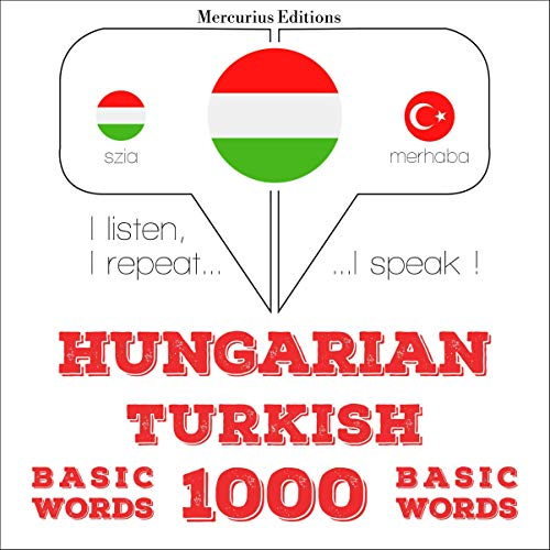 Hungarian – Turkish. 1000 basic words cover art
