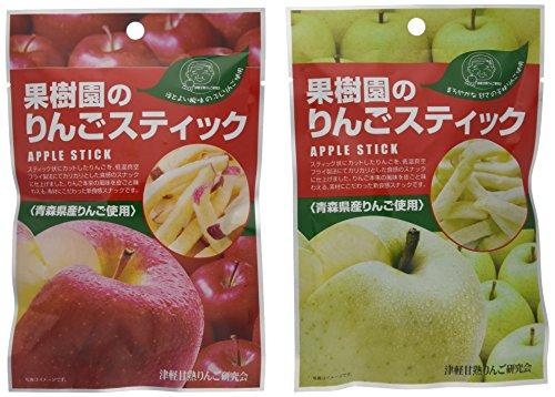 りんごスティック20gx王林、ふじ各3袋
