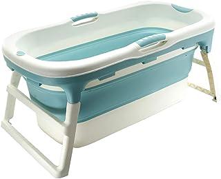 Baignoire De Seau /Épais Baignoire Pliable pour Adultes Baignoires Pliantes Mobiles en Plastique Grand Baril De Baignoire pour Spa Sauna Massage 70 /× 65cm // 55 /× 58cm