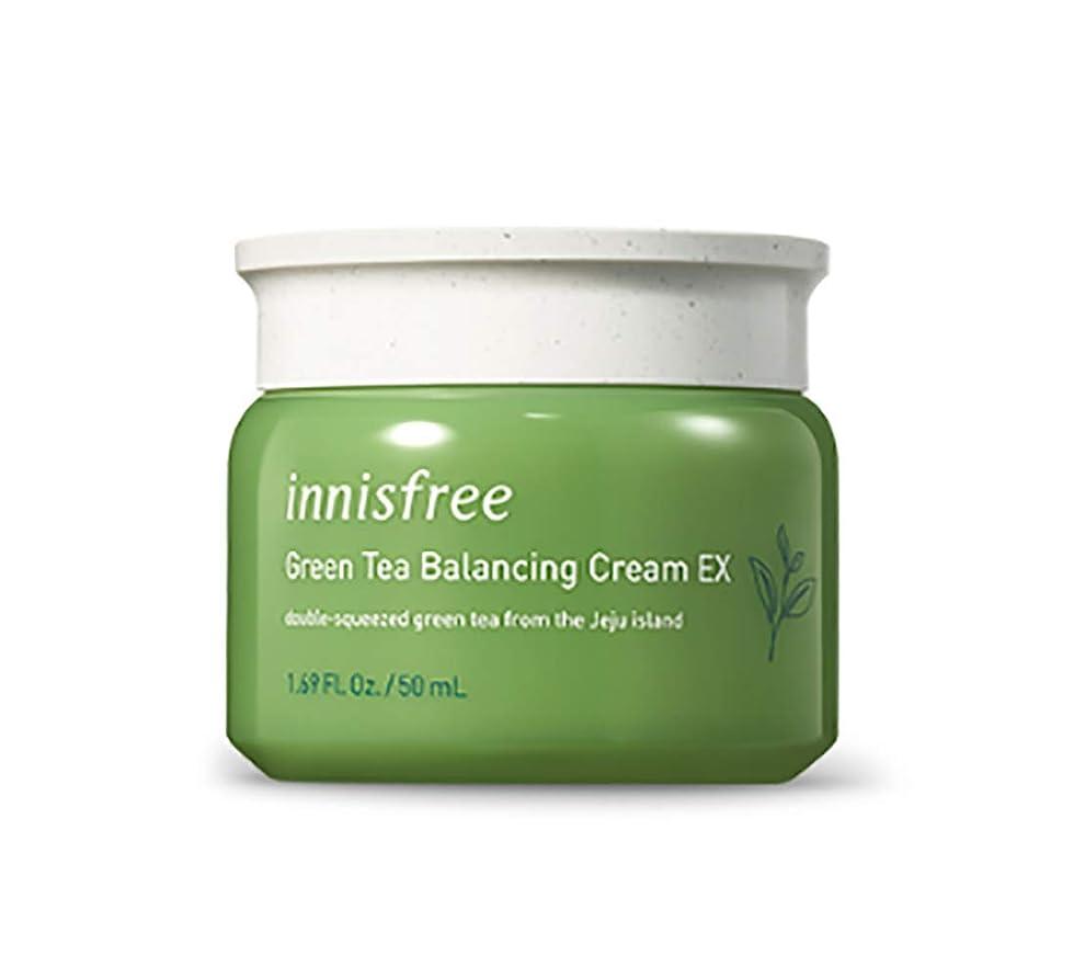暴力熱狂的な略すINNISFREE Green Tea Balancing Cream (並行輸入品)