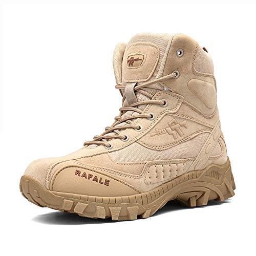 Blueskyli Wanderschuhe Herren Kampfstiefel Leichte Atmungsaktiv Armee Tactical Boot Outdoor Trekking Schuhe Gr.39-46