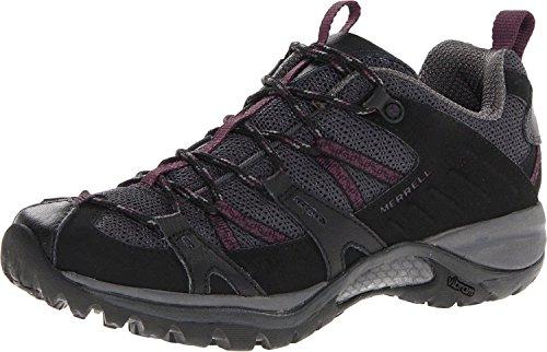 Merrell Women's Siren Sport 2 Hiking Shoe (8 C/D US, Black/Purple)