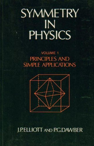 Symmetry in Physics: Principles and Simple Applications Volume 1