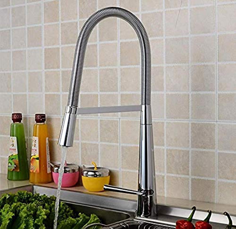 Sink Armaturen für Bathhigh Biegen Rotational Kupfer - Chrom - Hahn Home Küche kreativen Mischwasserhahn