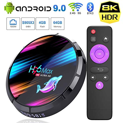 android tv h96 fabricante JHZL