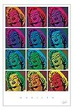 Monroe, Marilyn - Pop Art Squares - Poster - Grösse