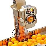 RROWER Ping-Pong Robot Máquina con 36 Diferente con la Vuelta de Captura Bola Bolas automática Neto Mesa de Ping Pong y Entrenador Remoto inalámbrico Top Versión Ping-Pong La práctica de Ejercicio