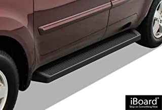 APS iBoard Running Boards (Nerf Bars Side Steps Step Bars) Compatible with 2009-2015 Honda Pilot Sport Utility 4-Door & 2009-2013 Acura MDX (Black Powder Coated Running Board Style)