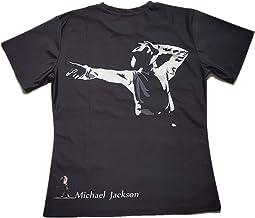 Shuanghao Camisetas Unisex para Hombre para niños Camisetas de Michael Jack Memorial Camisetas de Billie Jean Camisetas de Michael Jack