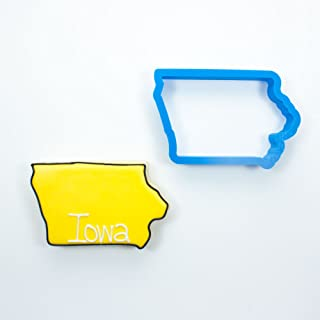 Frosted Cookie Cutters Iowa Cookie Cutter (Large - 4 - 4.5 in)