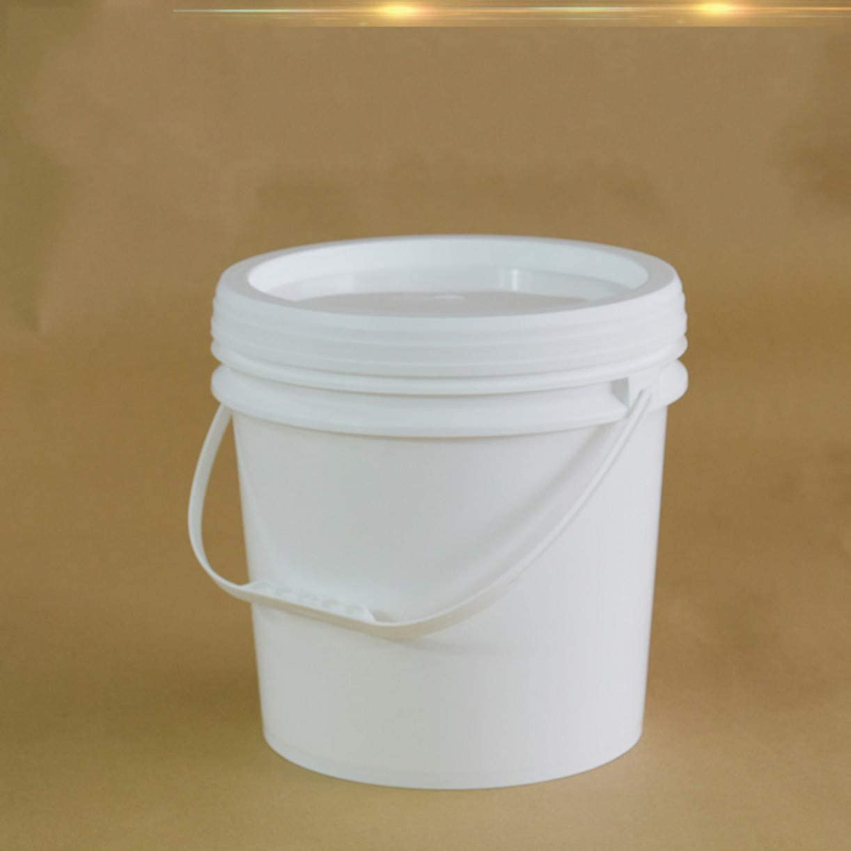 Lowest price challenge WellieSTR 2 Pack 10L White Plastic Ranking TOP7 Lid and with Handle Bucket