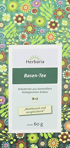 Herbaria Basen Kräutertee , 1er Pack (1 x 60 g Tüte) - Bio