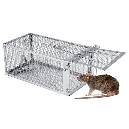 Wandisy Jaula de Trampa para Ratas, 27 * 14 * 12 cm...