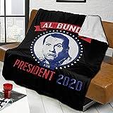 372 Al Bundy For President 2020 Ultra Soft Lammwolle Decke Warme Bettdecke 152,4 x 127,7 cm